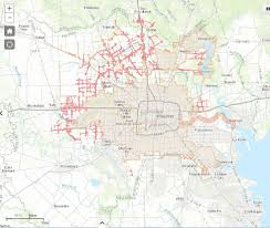 Houston City Limits Map Pace Financing