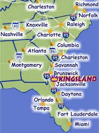 Jacksonville Map Visit Kingsland U2013 Where Is Kingsland Georgia U2013 Georgia Coast At I