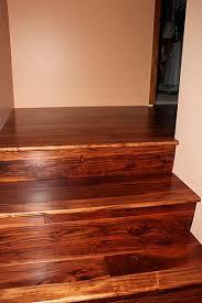beautiful acacia hardwood flooring stairs by simplefloors