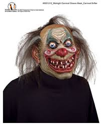 carnival drifter clown mask men costumes
