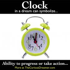 a clock as a symbol can represent more meanings at