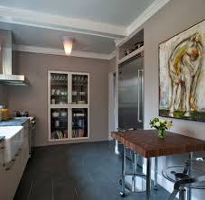 contemporary kitchen canisters wall recess kitchen contemporary with glass cabinet modern wall