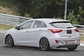 hyundai elantra hatch hyundai elantra gt hatch spied testing at nurburgring