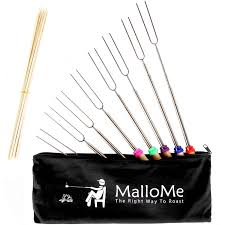 amazon com mallome marshmallow roasting sticks extending roaster