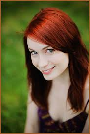 what is felicia day s hair color felicia day through the shattered lens