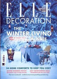 Elle Decoration Christmas Table by Elle Decoration Magazine Subscription Buy At Newsstand Co Uk