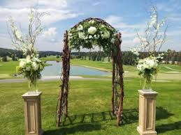 Wedding Ceremony Arch Wedding Ceremony Ideas Dahlia Floral Design Calgary
