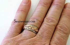 cruise wedding band braid wedding bands