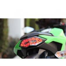 ninja 300 integrated tail light mdh programmable integrated tail light kawsaki ninja 300 2013 17
