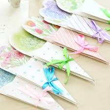 5pcs lot mid autumn festival diy creative flower gift message