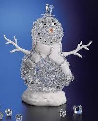 icy craft snowman