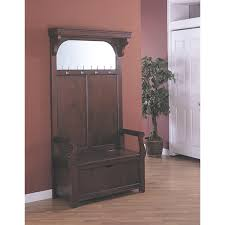 Coat Rack Bench Furniture Appealing Hall Tree Storage Bench For Home Furniture
