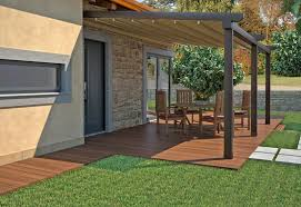 Backyard Floor Ideas Patio Awnings Fitted Attached To Home For Backyard Patio Space