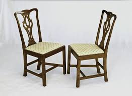 custom made english chippendale chair by first edition furniture