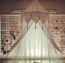 Boho Bed Canopy Boho Bedroom Like The Top Of This For Misquito Net What If There