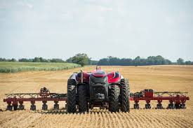 case ih autonomous concept tractor cabinless new holland