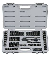 amazon black friday tool set stanley 92 824 black chrome and laser etched 69 piece socket set