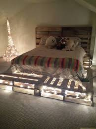 Diy Pallet Bed With Storage by Whole Pallet Platform Bed 150 Wonderful Pallet Furniture Ideas
