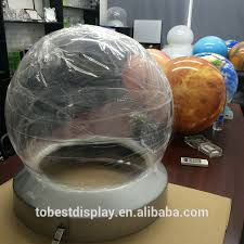 customize large clear plastic clear plastic container