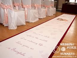 personalized aisle runner wedding aisle runner uk wedding gallery outside wedding