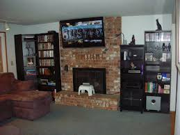 tv over fireplace grande