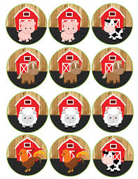 Barn Animal Party Supplies Farm Birthday Party Supplies Package Barn Wood Decorations U2013 D1