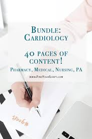best cardiology resources for pharmacy medical nursing