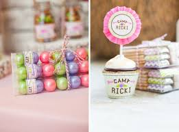 Gumball Party Favors Glam Camping Party With Emily Maynard U0026 Ricki Anders Ruff Custom