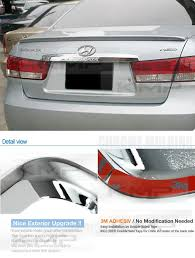 hyundai sonata 2008 parts oem auto parts chrome rear garnish molding for hyundai 2006 2008