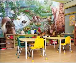 compare prices on wall mural garden online shopping buy low price custom photo 3d wallpaper non woven mural a small garden in the wall background painting