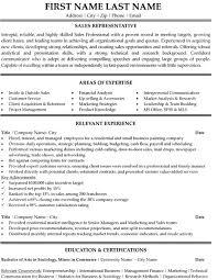 outside sales resume exles representative resumes jcmanagement co