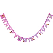 paw patrol pink birthday party banner party supplies walmart