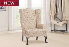 Chair And Ottoman Slipcovers Sure Fit Slipcovers Introducing Our Popular Waverly Pen Pal