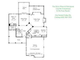 Unique Open Floor Plans The Buffington Floor Plans Djk Homes