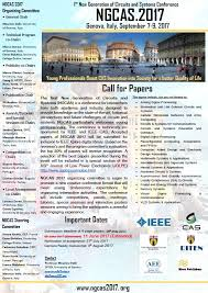 Design Automation Conference 2017 Extended Paper Submission Deadline For Ngcas 2017 Ieee Cas