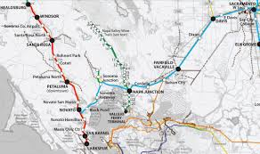 Marin Map Rail Advocates Pitch Commuter Line From Napa County To Marin