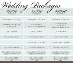 wedding packages wedding packages details