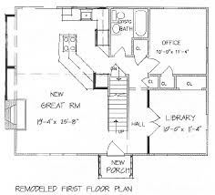 residential home floor plans add a second floor cap04 5179 the house designers