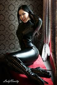 dommes dominant females in leather pinterest asian beauty
