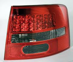 led taillights from in pro for the audi a6 avant c5 type 4b