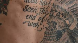 a powerful look at veterans u0027 tattoos u2013and the stories behind them