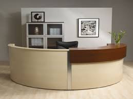 Rounded Reception Desk by Receptionist Desks Furniture Round Reception Desk For Sale Curved