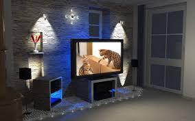Wohnzimmer Ideen Tv Wand Schwarze Steinwand Fernseher Gut On Moderne Deko Idee Oder