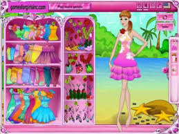 dress up games she will don makeup to be able to barbie dolls beginning with deciding on precisely what