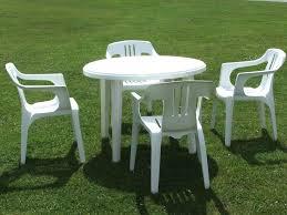 Interesting Composite Outdoor Furniture U2014 Home Design Outstanding White Garden Table Plastic Patio