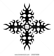 flame tribal tattoo designs stock images royalty free images