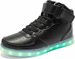 light up shoes for girls amazon com poppin kicks led light up shoes boy classic
