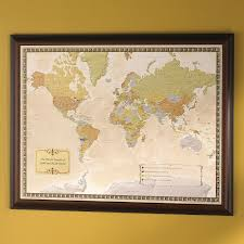 Wine Home Decor Personalized Wine Travel Map Wine Enthusiast