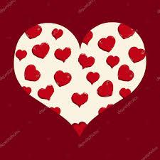 imagenes animadas sobre amor corazón beige con amor patrón de dibujos animados archivo imágenes