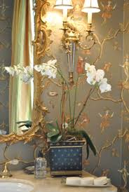 Wallpaper Designs For Bathrooms by 196 Best Luxury Bathroom Powder Room I Images On Pinterest